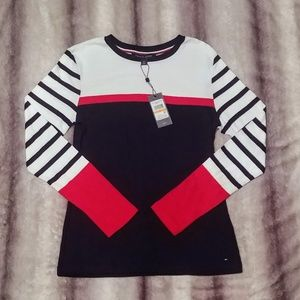 NWT Tommy Hilfiger Young Americans Long Sleeve Tee